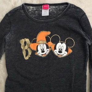 Halloween Mickey Minnie Mouse Top